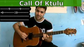 Guitar Tutorial: Call of Ktulu (Metallica) w/ Tab