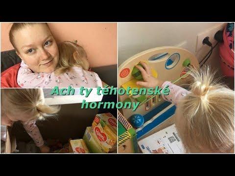 Ach ty těhotenské hormony   MamaVlog