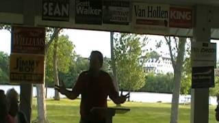 550am host Pat Snyder speaking @ the RCRP June rally
