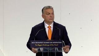Orbán Viktor beszéde a nemzetközi migrációs konferencián