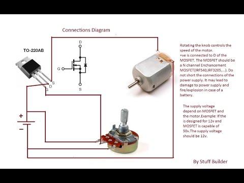 C mo consigo un motor para hacer que una maqueta gire for How to build a motor controller