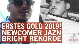 Newcomer JAZN Ist 2019 Als Erster Rapper Gold Gegangen!