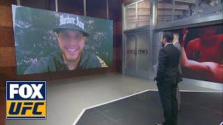 Brian Ortega talks about his fight against Cub Swanson | UFC Tonight