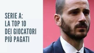 Serie A: la Top 10 dei giocatori più pagati