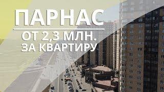 Парнас гетто или нет? Квартра от 2.3 млн, на синей ветке. СПб.