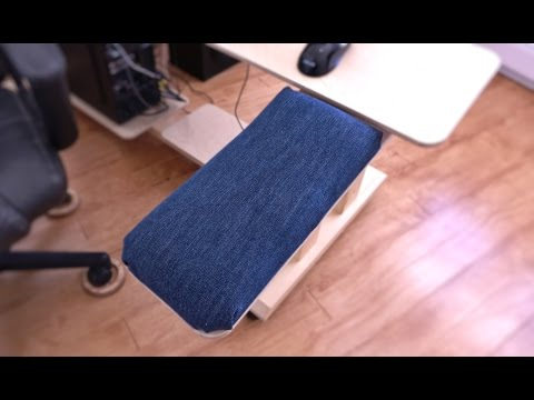Making The Padded Arm Rest For My New Desk