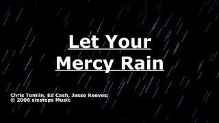 Let Your Mercy Rain - Chris Tomlin - Lyrics