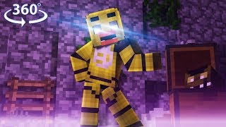 360° Five Nights At Freddy's - TOY CHICA VISION - Minecraft 360° Video