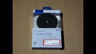 INSIGNIA Wireless Charging Pad Unboxing and Initial Impressions - For iPhone X / 8 / 8 Plus