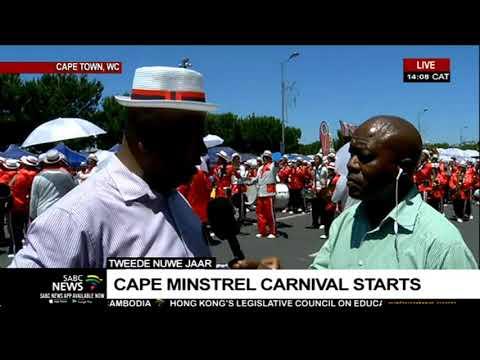 Cape Town minstrels ready to strut their stuff