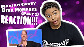 Mariah Carey   ShadiestDiva Moments (Part 2)  REACTION !!!