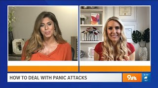 Dealing with Anxiety & Panic Attacks – Heather Hans 9News Denver