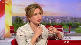 Eve Myles   BBC Breakfast    Talking Keeping Faith 2nd May 2018