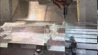 CNC Milling of Aluminum Injection Mold Cavity