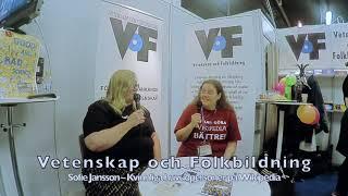 Sofie Jansson – VoF på Bokmässan 2019