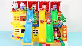 Peppa Pig Blocks Mega House Toys For Kids - Lego Duplo House Construction Sets #3
