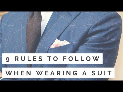 9 Rules To Follow When Wearing A Suit | How To Wear A Suit Mp3