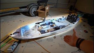 Customizing My KAYAK -- The Ultimate Fishing Kayak Project | Kholo.pk