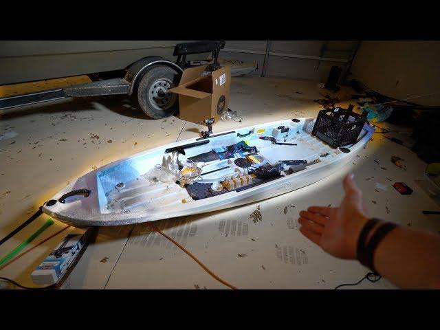 Customizing My KAYAK -- The Ultimate Fishing Kayak Project