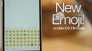 ה־Emoji החדש של 9.1 אצלכם ב 9.0 ~ 9.0.2!