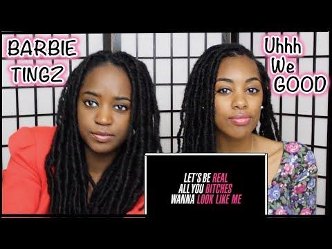 Nicki Minaj - Barbie Tingz (Lyric Video) REACTION
