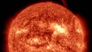 Смотреть онлайн Съемка Солнца в недели активности: октябрь 2014