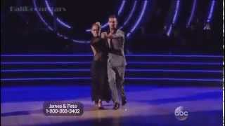 James Maslow & Peta Murgatroyd   Tango