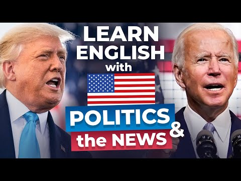 Learn English with Trump and Biden   The Presidential Debate