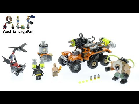 Vidéo LEGO The Batman Movie 70914 : L'attaque du camion toxique de Bane