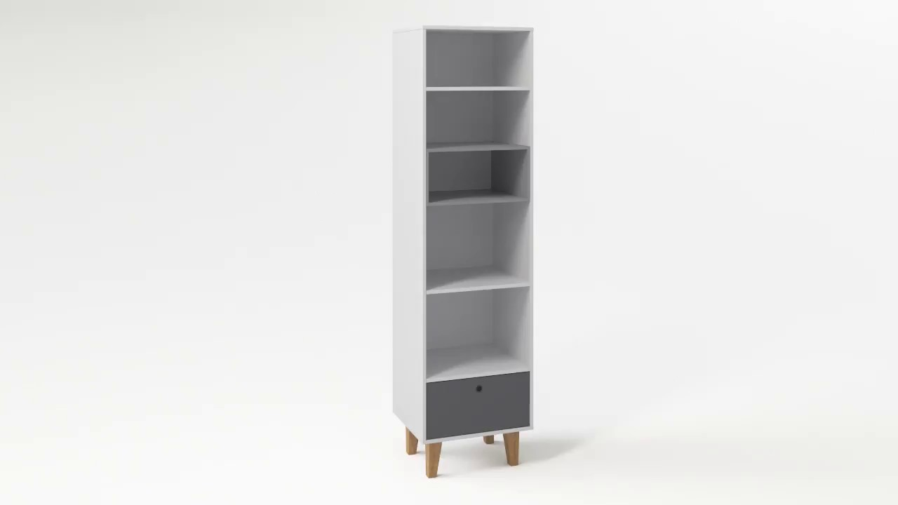 Concept Narrow Bookcase