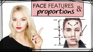 Face Features And Proportions - PART 4 (CONTOURING SERIES)