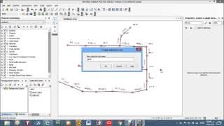 رسم شبكات الصرف الصحى باستخدام برنامج sewercad v8