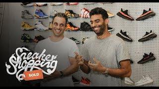 Sebastian Maniscalco Goes Sneaker Shopping With Complex | Kholo.pk