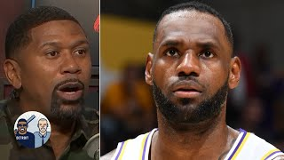 Jalen Rose is fired up about LeBron James averaging 10-plus assists | Jalen & Jacoby