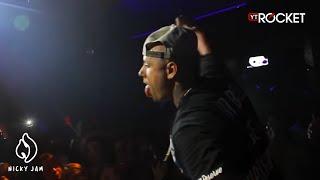 Nicky Jam Improvisando en Kronos Club - Puerto Rico