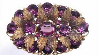 Vintage Jewelry 1930's - 1960's fashion era