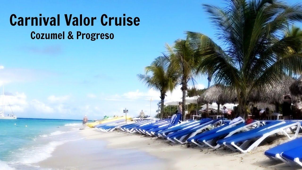 Carnival Valor Cruise – Cozumel & Progreso (plus Mr. Sancho's)