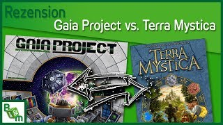Gaia Project vs Terra Mystica - Mein Fazit
