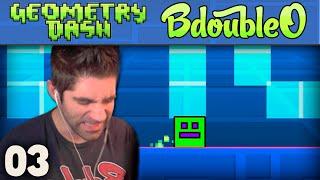 Geometry Dash I AM BROKEN! ep 3 [Geometry Dash Gameplay]