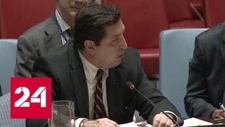 Глаза-то не отводи! Сафронков отчитал в Совбезе ООН постпреда Великобритании