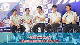 Tuấn Anh, Xuân Trường, Minh Vương bảnh bao, Hồng Duy tựa vai Văn Thanh ở Mizuno Choice | HAGL Media