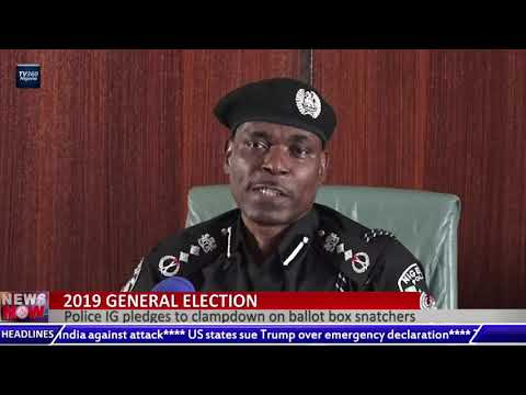 Police IG pledges to clampdown on ballot box snatchers