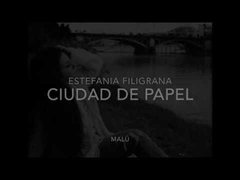 CIUDAD DE PAPEL MALU COVER estefania filigrana