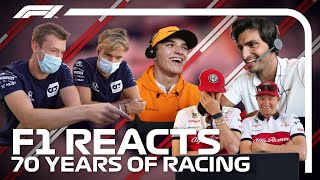 F1 Reacts To 70 Years Of Racing