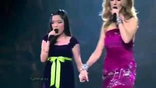 Charice and Celine Dion HD   because you loved me