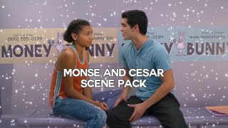 Monse and Cesar scene pack | On My Block season 3 (720p)