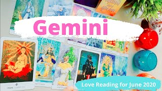 ❤️GEMINI LOVE READING❤️-LOVE PREDICTIONS *JUNE 2020*RELATIONSHIP & ROMANCE HOROSCOPE