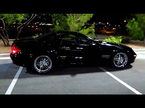 2003 MERCEDES BENZ SL 500 / AMG SL55 SPEC WHEELS AND TIRES