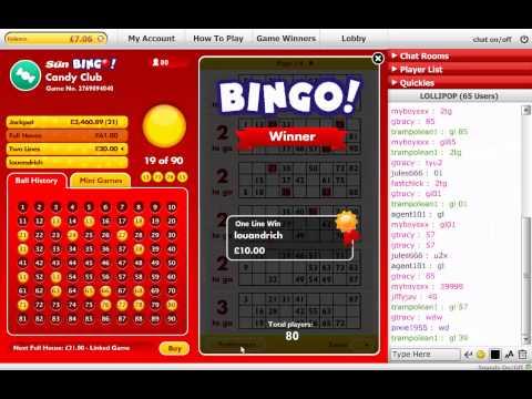 Tombola bingo 90
