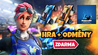 FORTNITE x ROCKET LEAGUE CHALLENGE NÁVOD (Llama Rama Challenges)